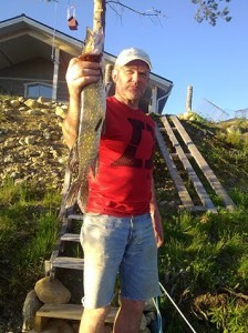 Kalastusta Luirolla